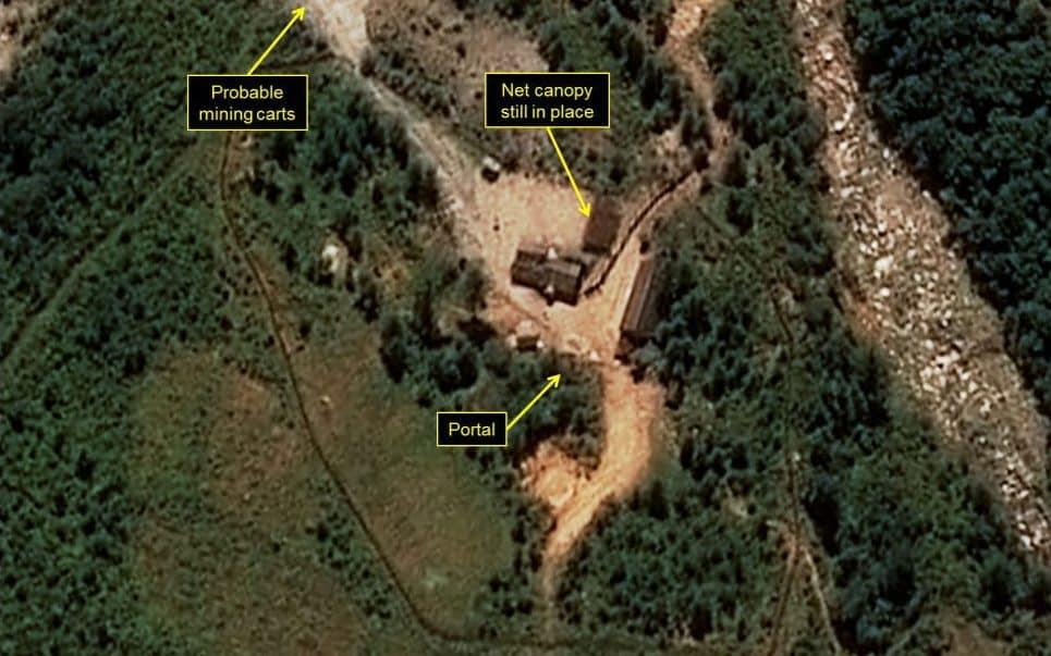 "As many as 200 North Korean labourers have been killed after a mine shaft being dug at the regime's nuclear test site collapsed, according to Japan's Asahi TV. Sources in North Korea told the news channel that a tunnel being excavated by around 100 workers at the Punggye-ri test site collapsed earlier this month. An additional 100 labourers sent to rescue their colleagues were reportedly killed when the tunnel suffered a second collapse. An exact date for the disaster has not been provided, but it comes shortly after North Korea conducted its sixth - and most powerful - underground nuclear test at the site. North Korea claims the September 3 test beneath Mount Mantap was of a hydrogen bomb, with monitors suggesting the detonation was equivalent to an earthquake with a magnitude of 6.1 on the Richter Scale. Some analysts put the yield of the weapon as high as 280 kilotons, while seismologists picked up signs of underground collapses in the hours and days after the blast. Satellite images of the Punngye-ri site taken immediately after the test revealed significant damage to surface features, including landslips. World's most powerful nuclear tests On October 17, a study published by the US-Korea Institute at Johns Hopkins University and published on the 38 North website suggested the sixth underground test at the site had caused ""substantial damage to the existing tunnel network under Mount Mantap"". North Korea and the H-Bomb Nam Jae-chol, the head of South Korea's Meteorological Administration, warned in testimony before its parliament on Monday that further tests at Punggye-ri could cause the mountain to collapse and release radioactivity into the environment. ""Based on our analysis of satellite imagery, we judge that there is a hollow space, which measures about 60 metres by 100 metres beneath Mount Matap"", he said. ""Should another nuclear test take place, there is a possibility [of a collapse]"". Chinese scientists have issued similar warnings, suggesting that nuclear fallout could spread across ""an entire hemisphere"" if the mountain did collapse."