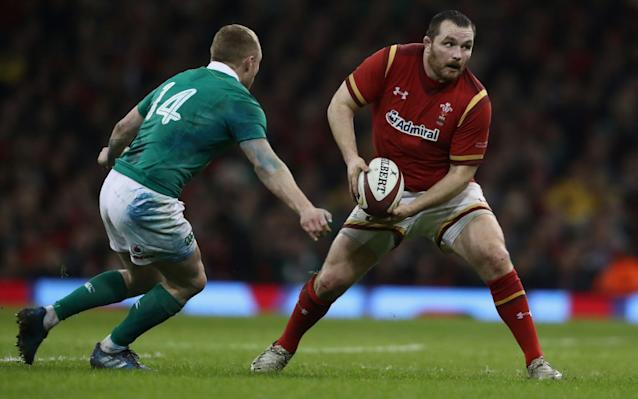 <span>Ken Owens is arguably the in-form hooker</span> <span>Credit: GETTY IMAGES </span>