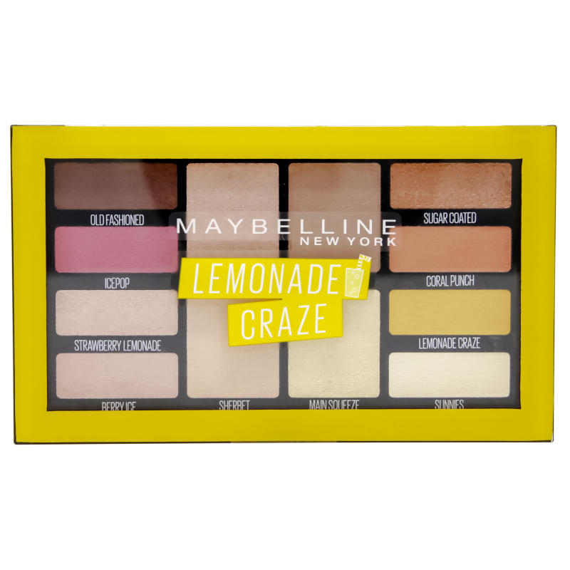 Maybelline Lemonade Eyeshadow Palette