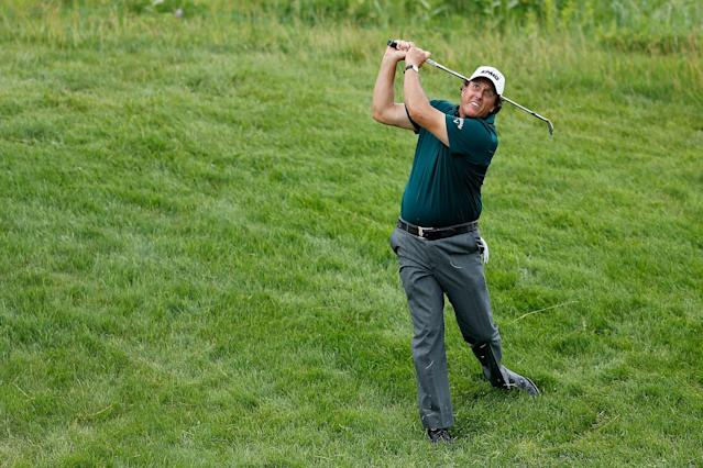 "<div class=""caption""> Mickelson's 2019 season saw him win for a 44th time on the PGA Tour, but also fall out of the World Top 50 for the first time since 1996. </div> <cite class=""credit"">Michael Reaves/Getty Images</cite>"