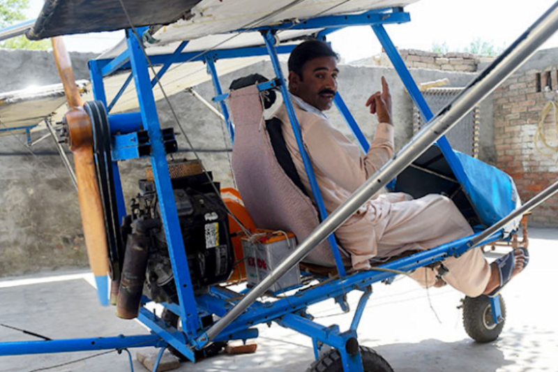 Roadcutter's Engine, Wheels from Rickshaw: Why This Popcorn Seller Has Caught Pak Air Force's Attention