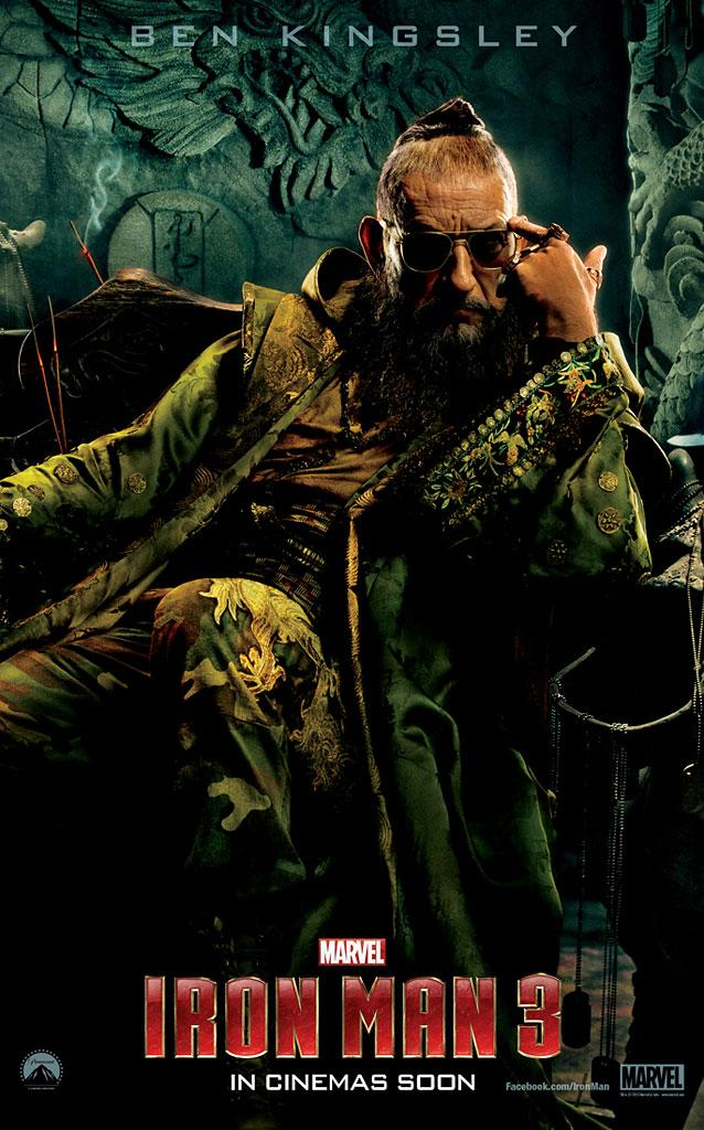 "Ben Kingsley as The Mandarin in Marvel Studios' ""Iron Man 3"" - 2013"