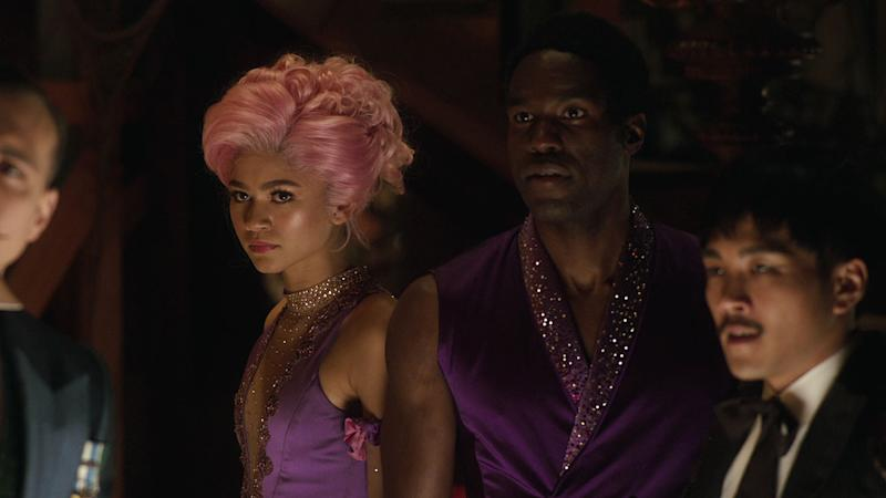 Zendaya and Yahya Abdul-Mateen II play trapezing siblings Ann and WD (20th century Fox)