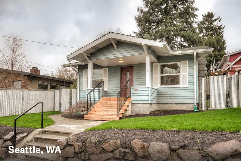 Home for sale in Seattle WA with a $1500 estimated mortgage payment