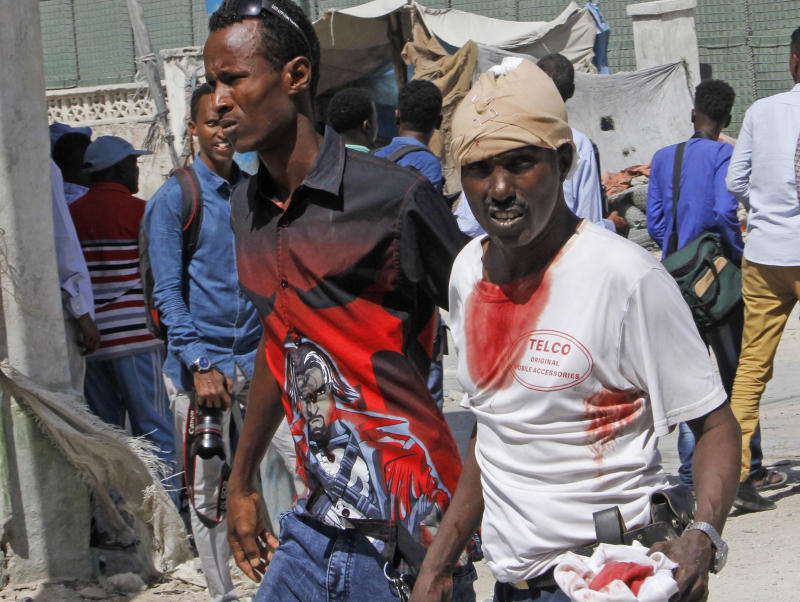 Top Somali journalist among dozens killed in Mogadishu bombings