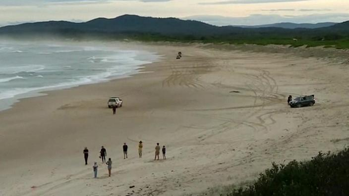 Other surfers tried to save the teenager