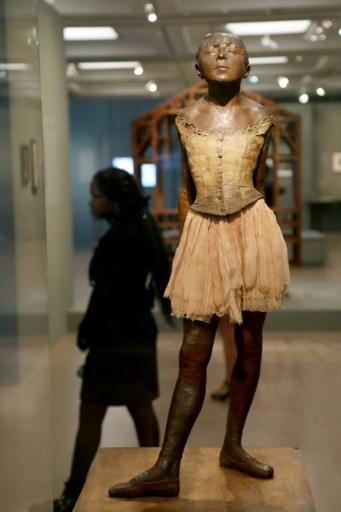 """Little dancer of fourteen years"" is a highlight of the show at the Paris museum"