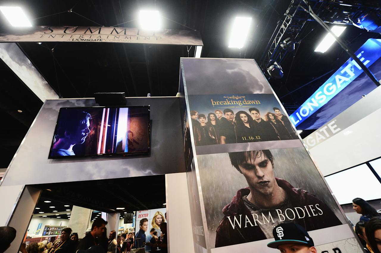 """SAN DIEGO, CA - JULY 12:  A general view of atmosphere at """"The Twilight Saga: Breaking Dawn Part 2"""" during Comic-Con International 2012 at San Diego Convention Center on July 12, 2012 in San Diego, California.  (Photo by Michael Buckner/Getty Images for Lionsgate)"""