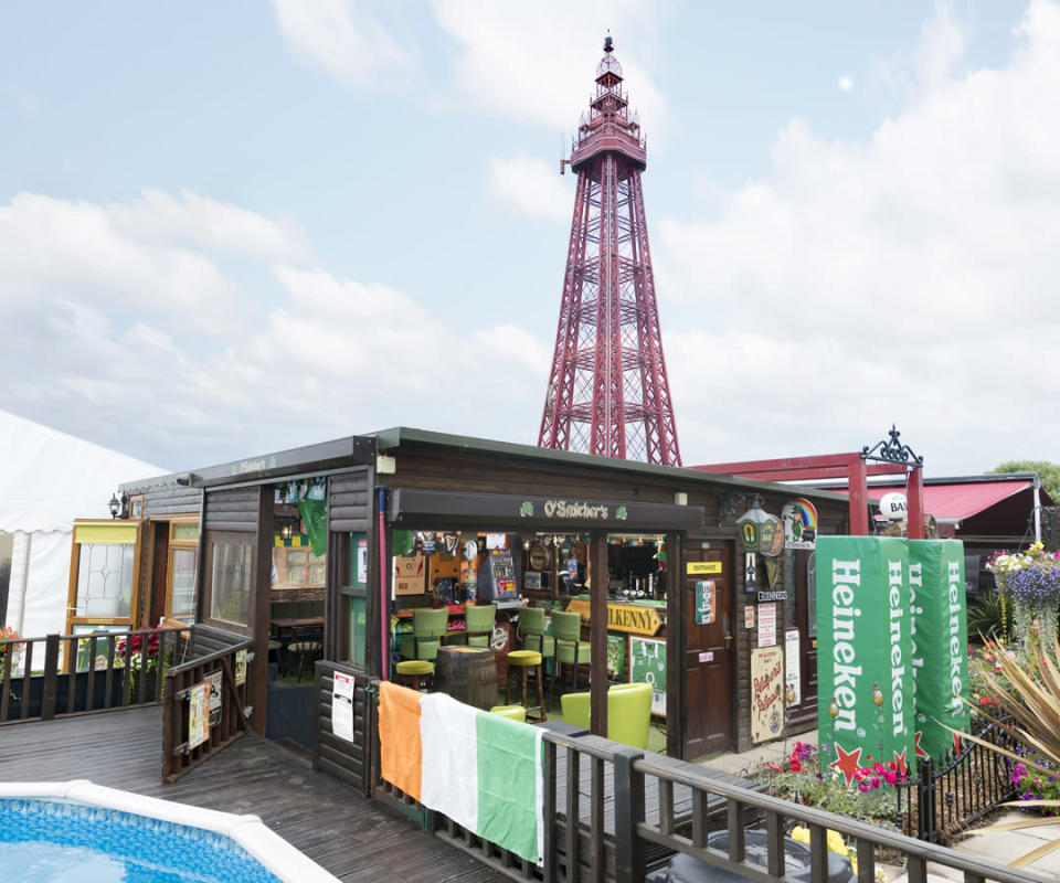<p>PUB & ENTERTAINMENT:<br>O'Smithers – owned by Doug Smith in Blackpool, Hambleton (Picture: Shed of the Year) </p>