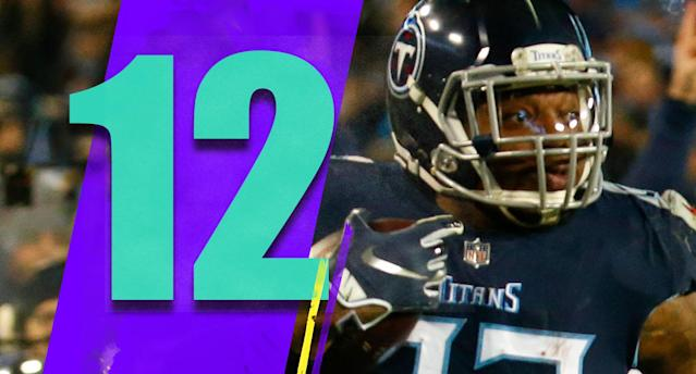 <p>It's not like Derrick Henry didn't have a chance to carve out a bigger role. Early in the season he had two games with 18 carries, and did little with it. If Thursday night's 238-yard explosion happens in that first month, maybe it's an entirely different season for Henry. (Derrick Henry) </p>