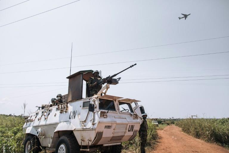 United Nations armoured vehicles have become a familiar sight around the Central African Republic's capital Bangui
