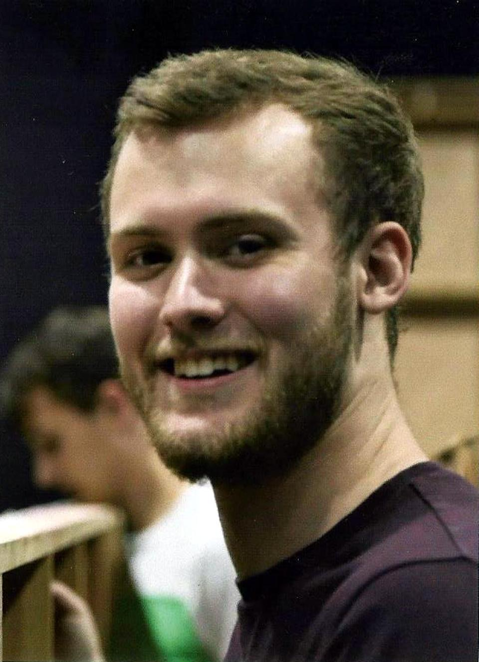 Sam Potter died from fatal alcohol toxicity after a university rugby club event (Family handout/PA)