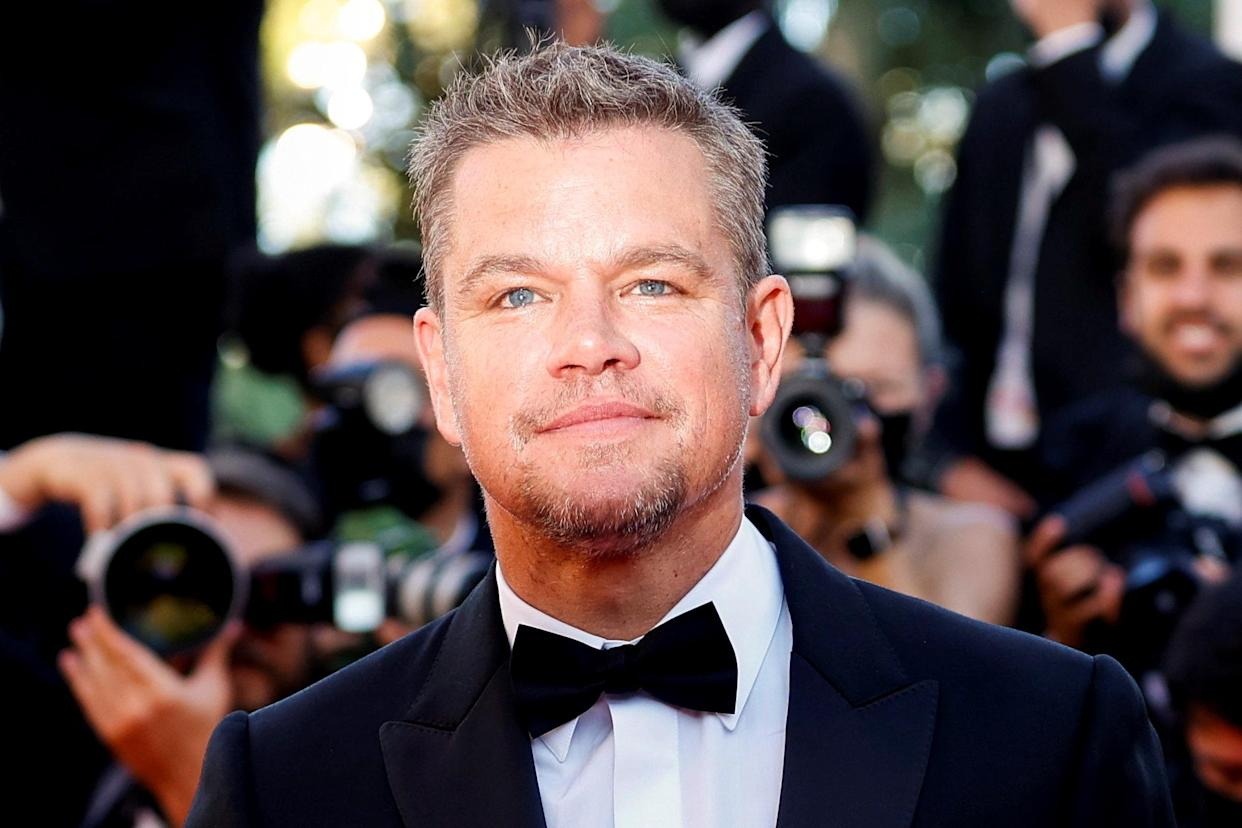 Matt Damon says his family is lucky, all things considered, about what they faced amid the COVID-19 pandemic.