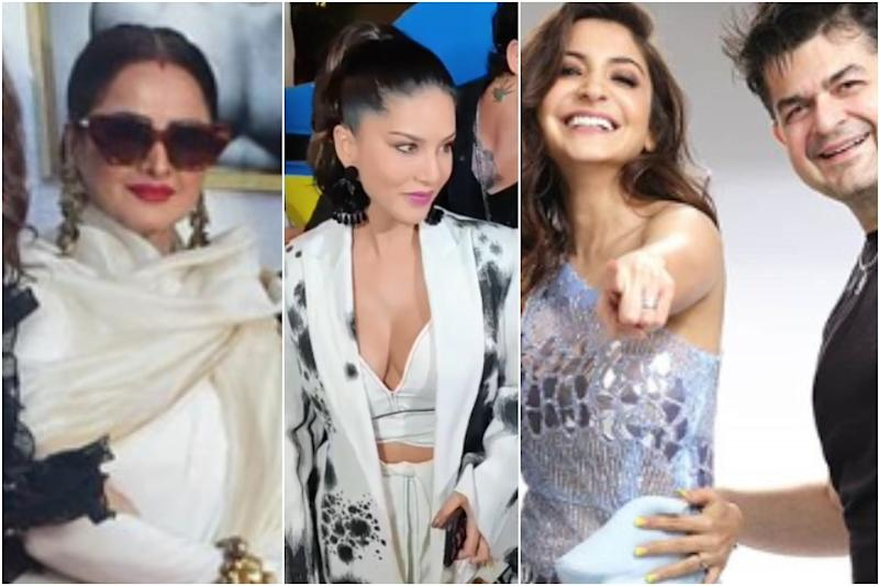 Rekha, Vidya Balan, Sunny Leone and Other Celebrities Snapped at Dabboo Ratnani Calendar Launch Event