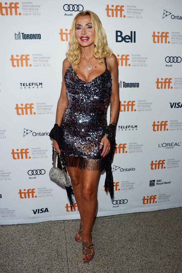 "WORST: Italian model Valeria Marini shows up to the ""Paperboy"" premiere wearing a dress that appears to be made out of a disco ball? This entire look is just too much for us. Heck, we have a feeling even Pamela Anderson would see this and say, ""Whoa, tone it down!"""