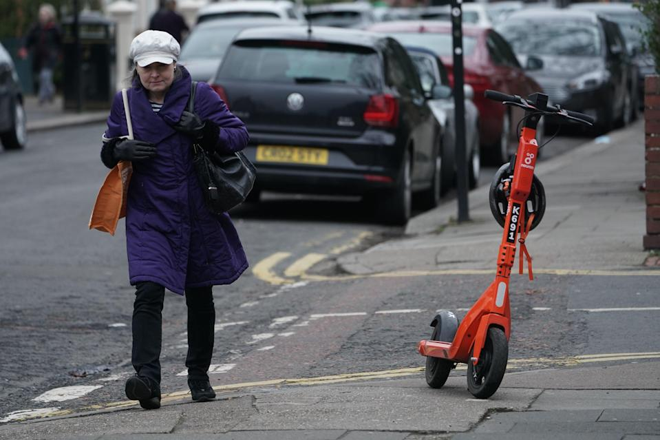 <p>Local residents have described the scooter scheme as a 'free-for-all'</p> (PA)