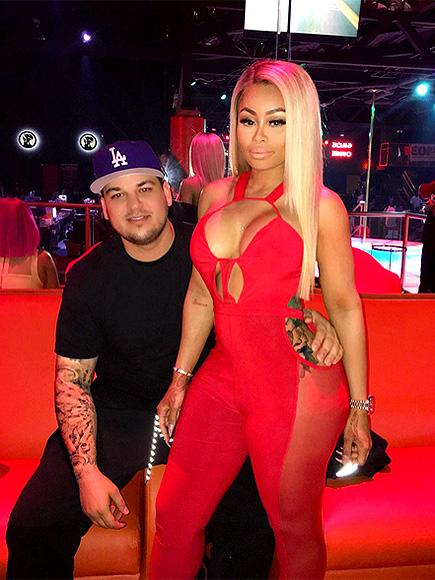 Rob Kardashian and Blac Chyna Hit Atlanta Club – and Share Racy Snapchats
