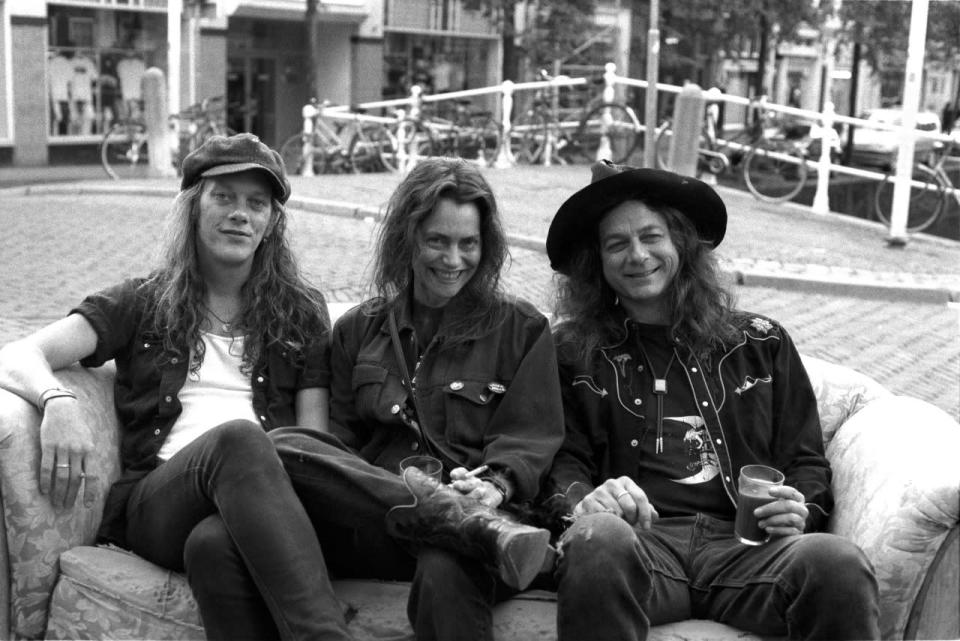 Andrew Loomis (far left) was the drummer and a founding member of the seminal Pacific Northwest punk act Dead Moon. While a cause of death has not been given specified, he had battled lymphoma for years. Loomis died March 8. (Photo: Anthony Pidgeon/Redferns)