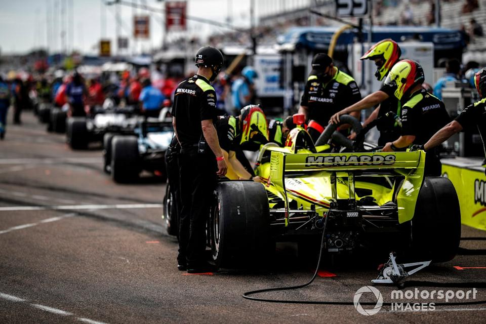 "Simon Pagenaud, Team Penske Chevrolet<span class=""copyright"">Michael L. Levitt LAT Photo USA</span>"