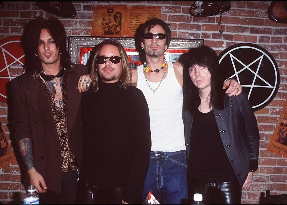 <p>Today, the band has sold 100 million albums worldwide, making them one of the best-selling bands ever.</p>