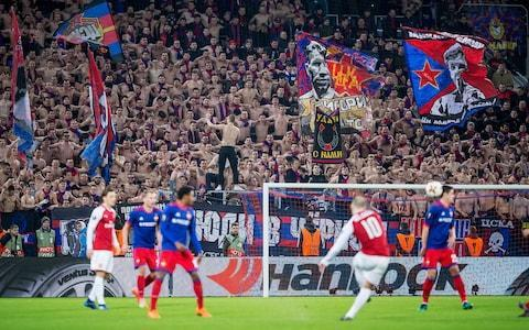 CSKA Moscow fans make plenty of noise - Credit: GETTY IMNGES