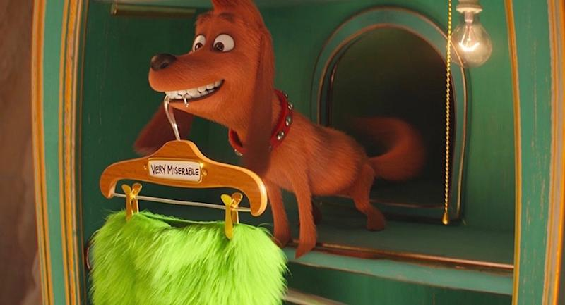 The Grinch Who Stole Christmas Dog.The Best Grinch Change From The Book Is About The Dog