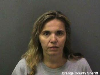 Kathia Davis, who is accussed of having sex with two minors who were members of her son's youth hockey team
