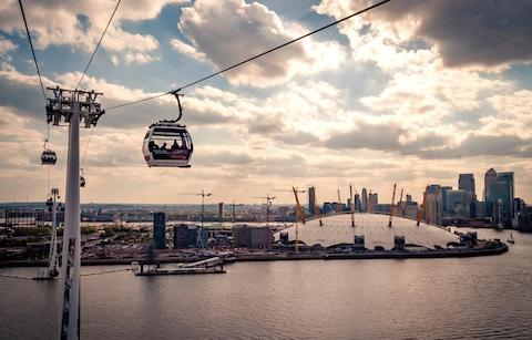 cable car greenwich - Credit: iStock
