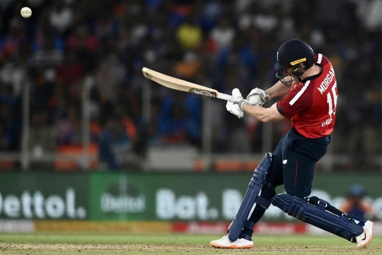 England captain Eoin Morgan played his 100th T20 international on Tuesday