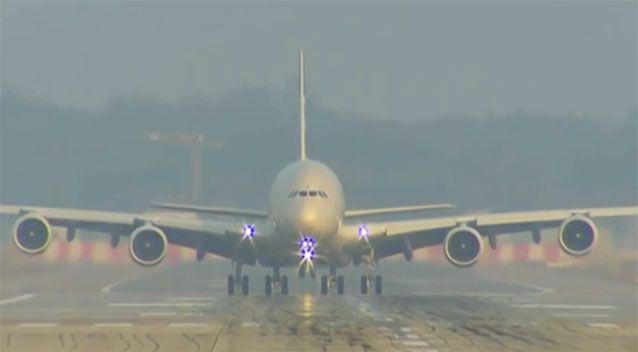 The alleged plot targeted an Etihad Airways flight out of Sydney airport. Source: 7 News