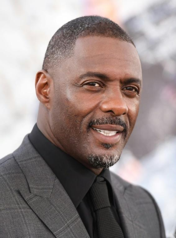 A name that is often in the discussion is Idris Elba, known for 'The Wire' and hit BBC series 'Luther' (AFP/Robyn Beck)