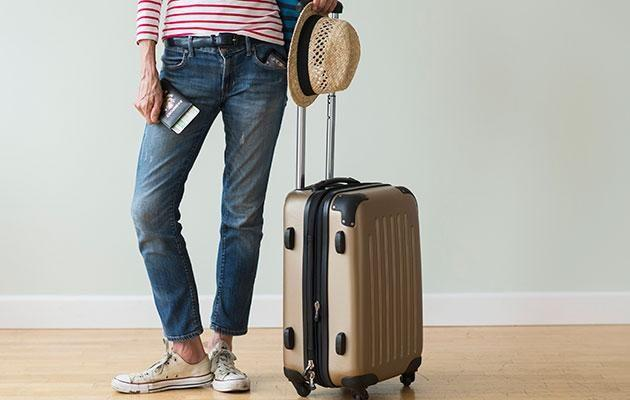 What's in the suitcase? Photo: Getty