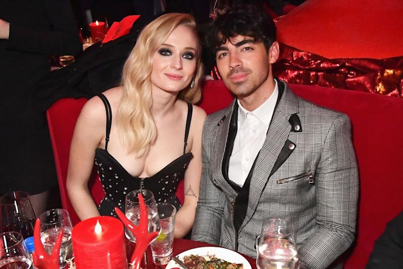 Joe Jonas and Sophie Turner | Jeff Kravitz/FilmMagic