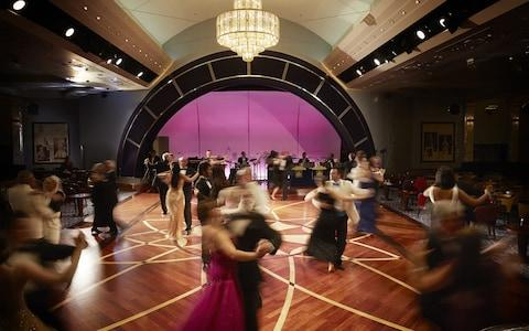 Dancing on the QM2 - Credit: GETTY