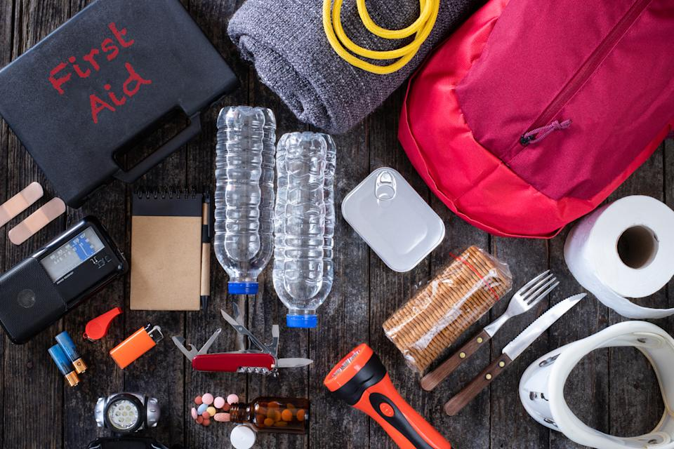 FILE PHOTO: Emergency go bag (Source: Getty Images)