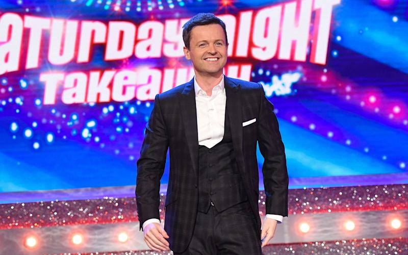 Declan Donnelly, hosting Saturday Night Takeaway alone for the first time, joked he had