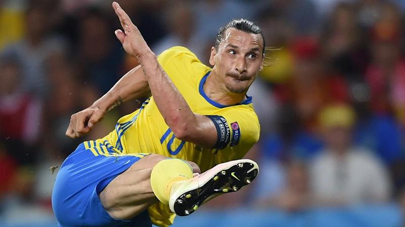 Could we see the return of Zlatan for Sweden at the World Cup? Pic: Getty