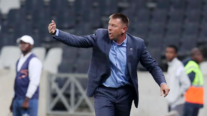 SuperSport United coach Eric Tinkler pins his hopes on Mogakolodi Ngele and Evans Rusike