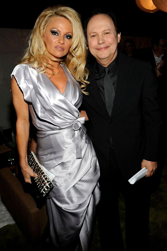 """Pamela Anderson and Billy Crystal at the <a href=""""/the-8th-annual-tv-land-awards/show/46258"""">8th Annual TV Land Awards</a> at Sony Studios on April 17, 2010 in Los Angeles, California. The show is set to air Sunday, 4/25 at 9pm on TV Land."""