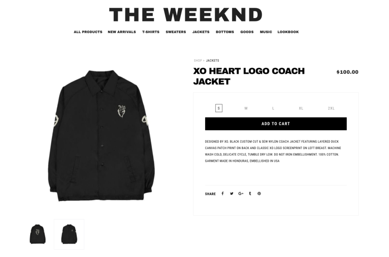 Photo credit: theweeknd.com