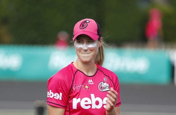 Ellyse Perry is the leading run scorer in the WBBL