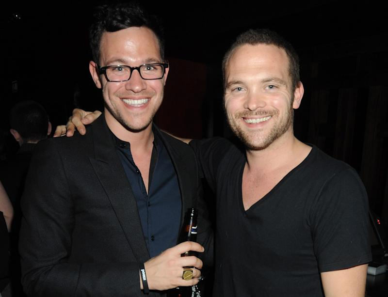 Will Young is mourning the loss of his twin brother Rupert. (Getty Images)