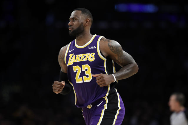 Though load management is the growing trend in the league, LeBron James isn't about it. If he can play, he's going to play. (AP/Marcio Jose Sanchez)