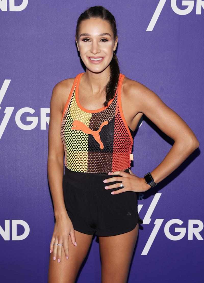 Workout queen Kayla Itsines was shamed on Instagram for her postpartum look. (Photo: Getty Images)