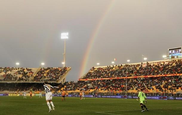 Whats At The End Of A Rainbow Juventus V Lecce