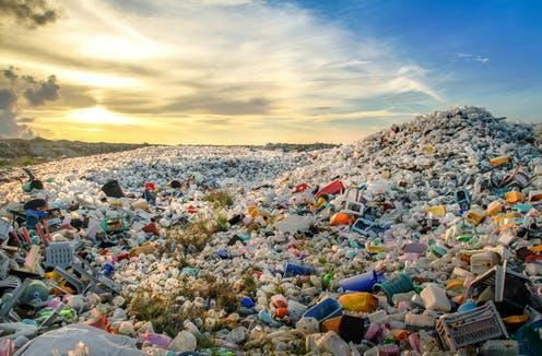 """<span class=""""caption"""">Mountains of plastic.</span> <span class=""""attribution""""><a class=""""link rapid-noclick-resp"""" href=""""https://www.shutterstock.com/image-photo/waste-plastic-bottles-other-types-thilafushi-426187984"""" rel=""""nofollow noopener"""" target=""""_blank"""" data-ylk=""""slk:Shutterstock/MOHAMED ABDULRAHEEM"""">Shutterstock/MOHAMED ABDULRAHEEM</a></span>"""