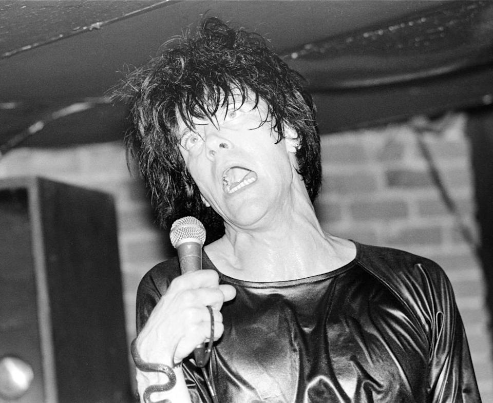 Lux Interior of the Cramps.