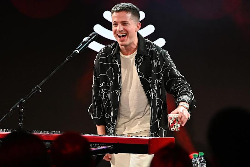 Puth performing at the SiriusXM Dial Up the Moment event in New York City | Slaven Vlasic/Getty