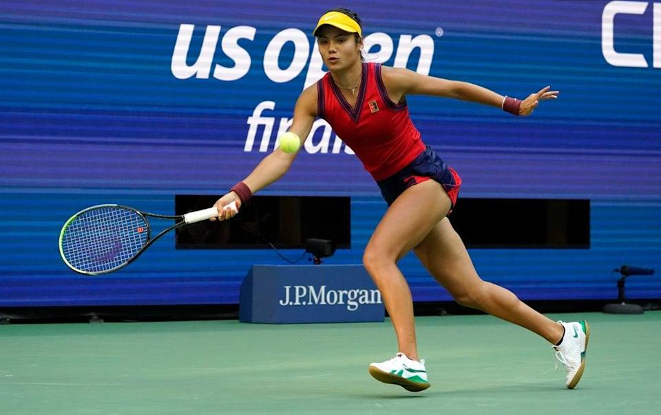 Her forehand side is arguably her weaker, but opponents failed to exploit it (AP)