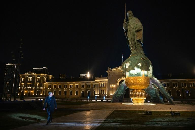 "Serbian President Aleksandar Vucic has praised the statue as ""the most beautiful thing"" he has ever seen"